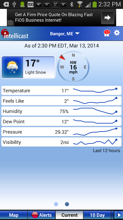 Intellicast Weather 135 Apk Download Android Weather Apps