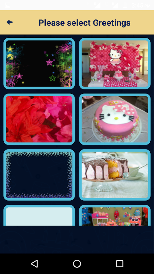 Happy Birthday Greetings - Wishing You Cards Frams 3 0 APK