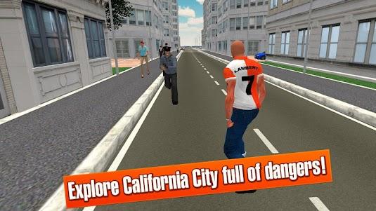 California Crime City Race 3D 1.1 screenshot 3