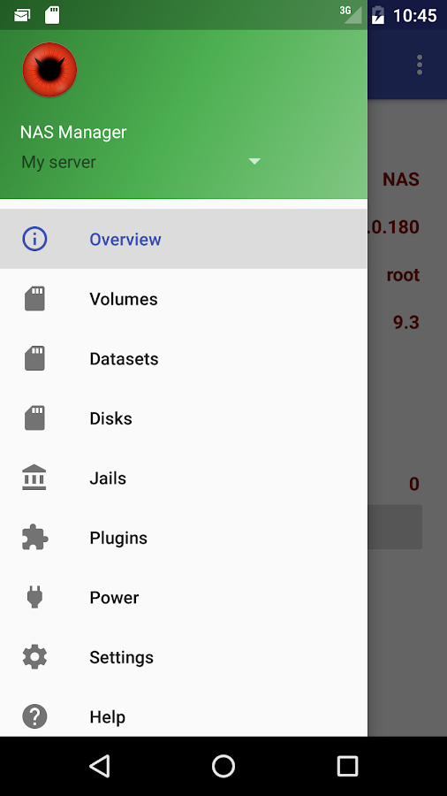 FreeNAS Manager 1 7 1 APK Download - Android Tools Apps