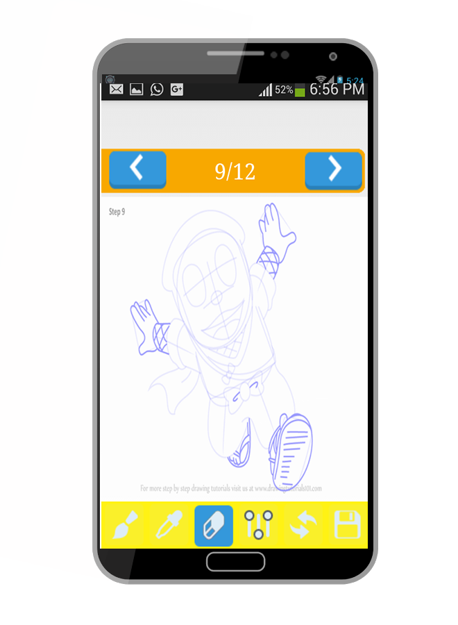 Learn To Draw Ninja Hattori 1 0 Apk Download Android Educational Games