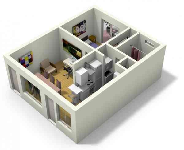 Tiny Home Design App: 3D Small Home Plan Ideas 1.0 APK Download