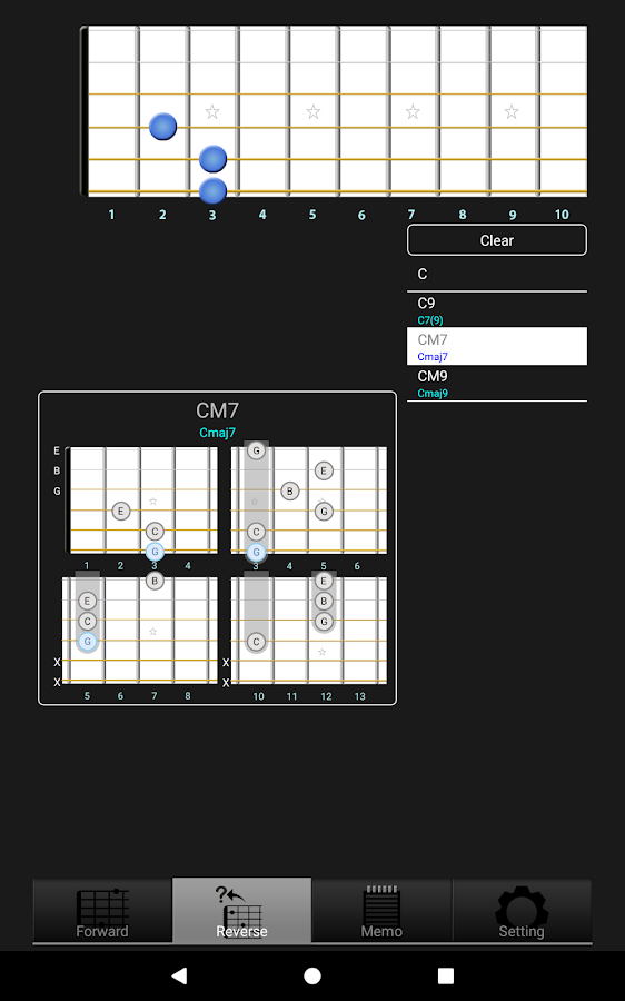 Gchord3 Guitar Chord 3022 Apk Download Android Music Audio Apps
