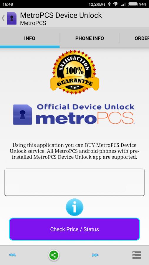 metropcs device unlock apk hack