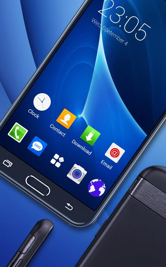 Theme For Samsung J7 Prime Wallpaper Galaxy Skin 2 1 6 Apk Download