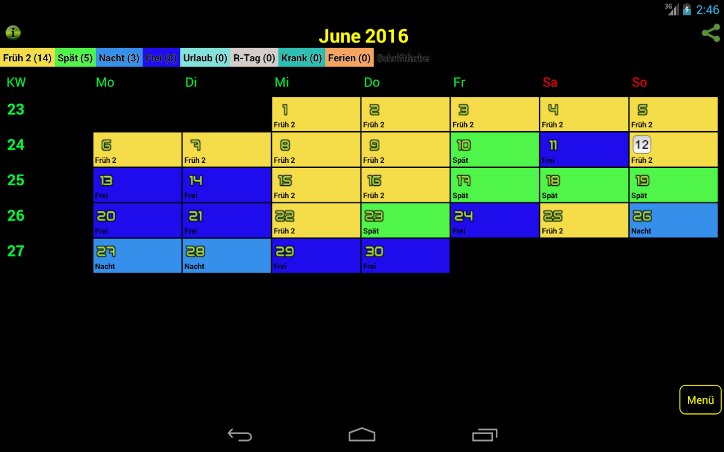 Easy-Schichtplan 2.7.8 APK Download - Android Productivity Apps