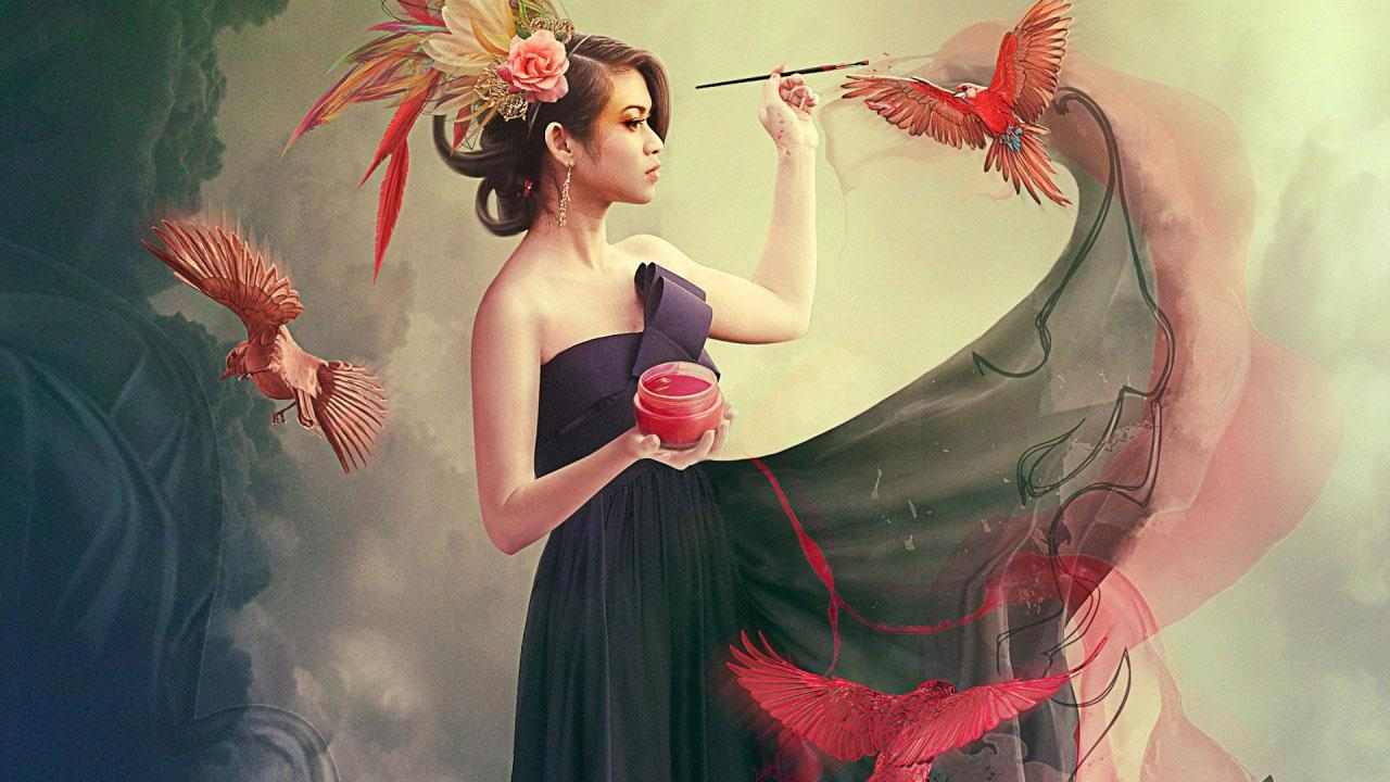 fantasy girl hd wallpapers 3.1 apk download - android photography apps