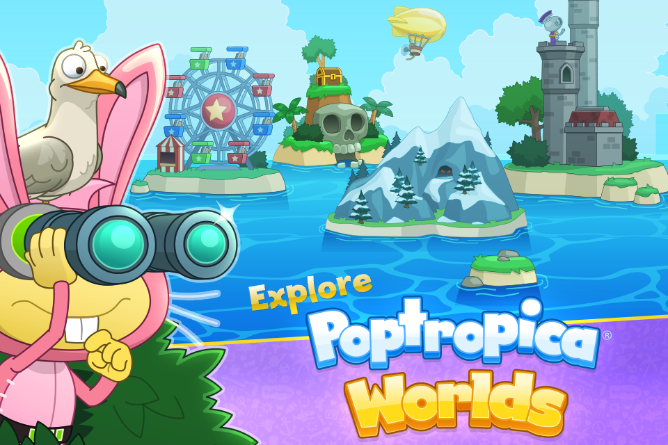 Poptropica Worlds 1 3 634 APK Download - Android Adventure Games