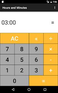 Hours & Minutes Calculator 1.3 screenshot 12