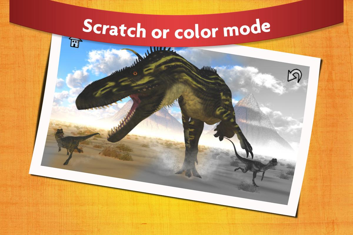 Dinosaur Scratch and Paint - Free Game for Kids 18.1 APK Download ...