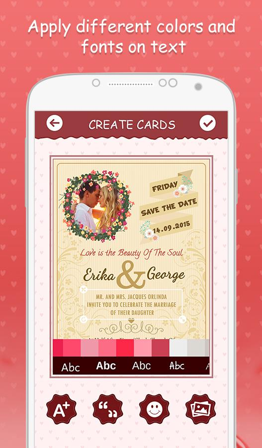Wedding invitation cards 103 apk download android photography apps wedding invitation cards 103 screenshot 13 stopboris Image collections