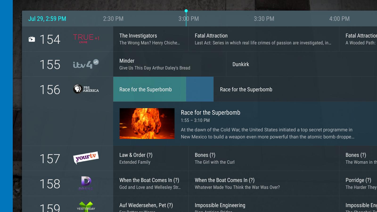 Tvheadend Live Channel v0 3 17 (Build: 142) APK Download