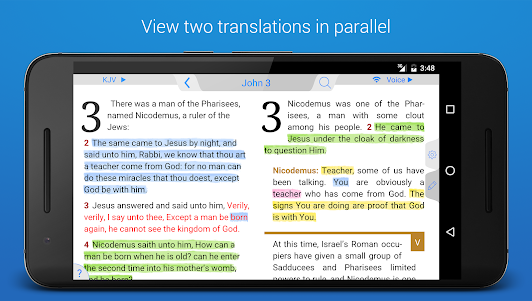Holy Bible King James + Audio 7.12.4 screenshot 6