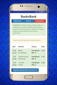 İddaa Tahminleri - BankoBank 2.5 screenshot 3