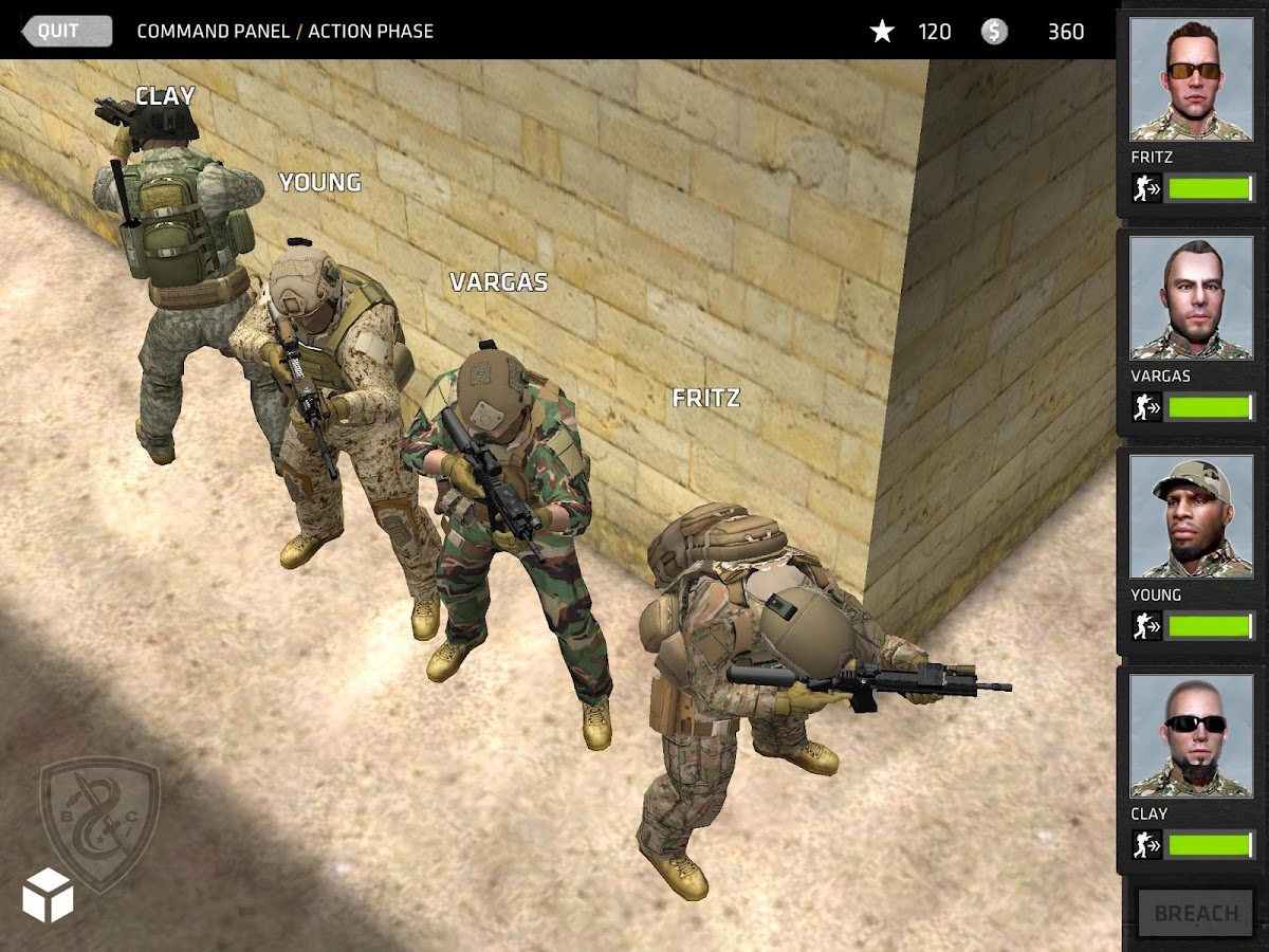 download game breach and clear apk