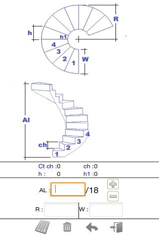 Stair Calculator 1 0 APK Download - Android Tools Apps