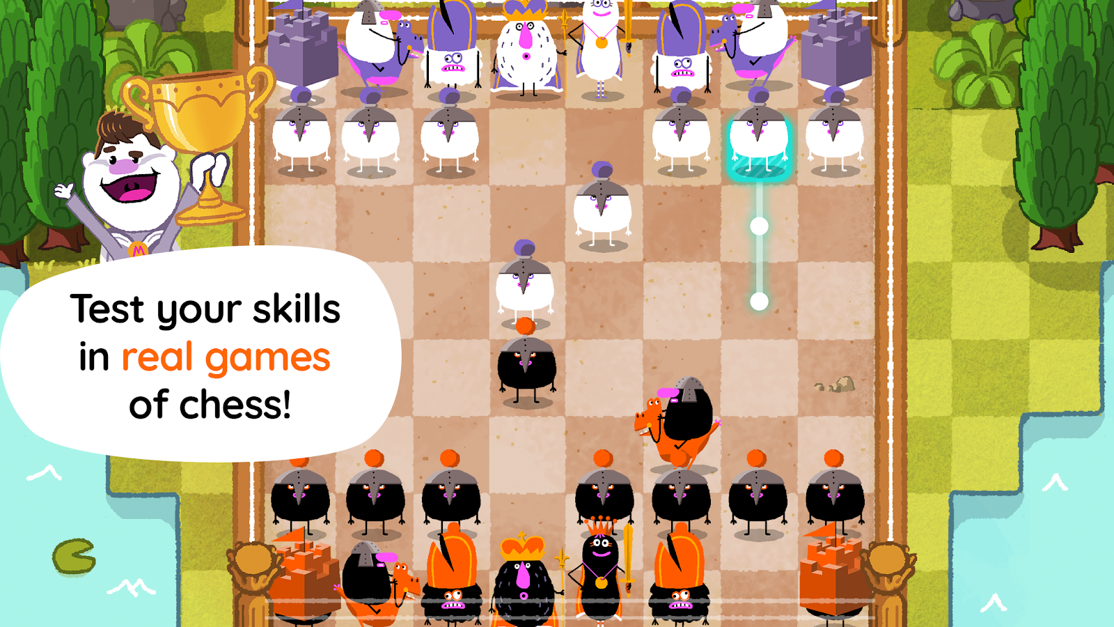 Magnus Kingdom Of Chess 130 Apk Download Android Educational Games Move Checkmate Diagram Furthermore Moves In Addition The Event Screenshot 14
