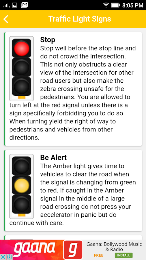 RTO codes and Traffic rules 0 0 3 APK Download - Android Tools Apps