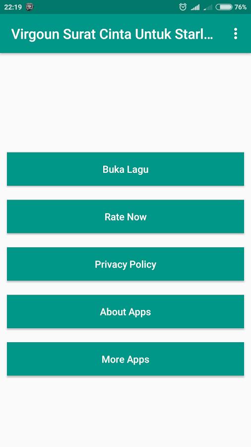 Download Lirik Lagu Virgoun Surat Cinta Untuk Starla 1 0 Apk Android Music Audio Apps