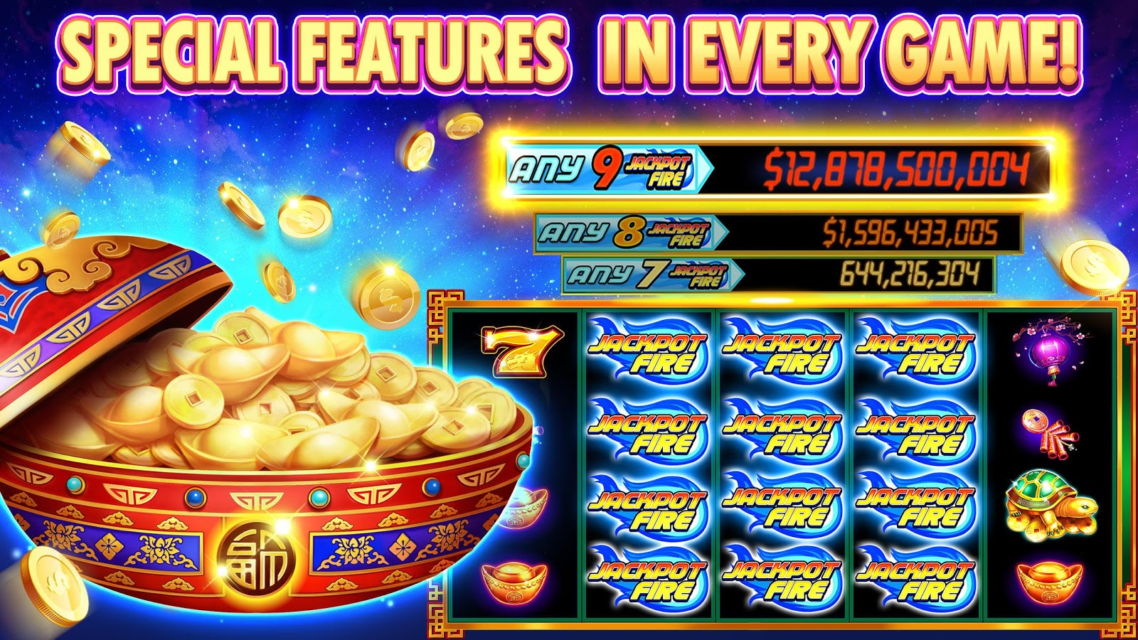 Free Slots Hot Vegas Slot Machines 1 09 APK Download