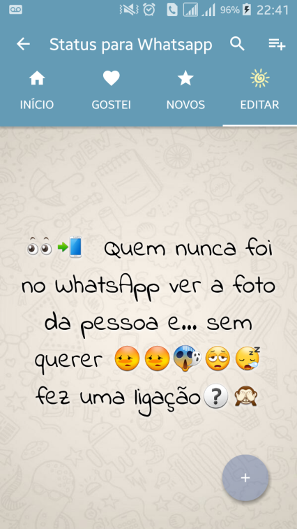 frases para status whatsapp Emoticons