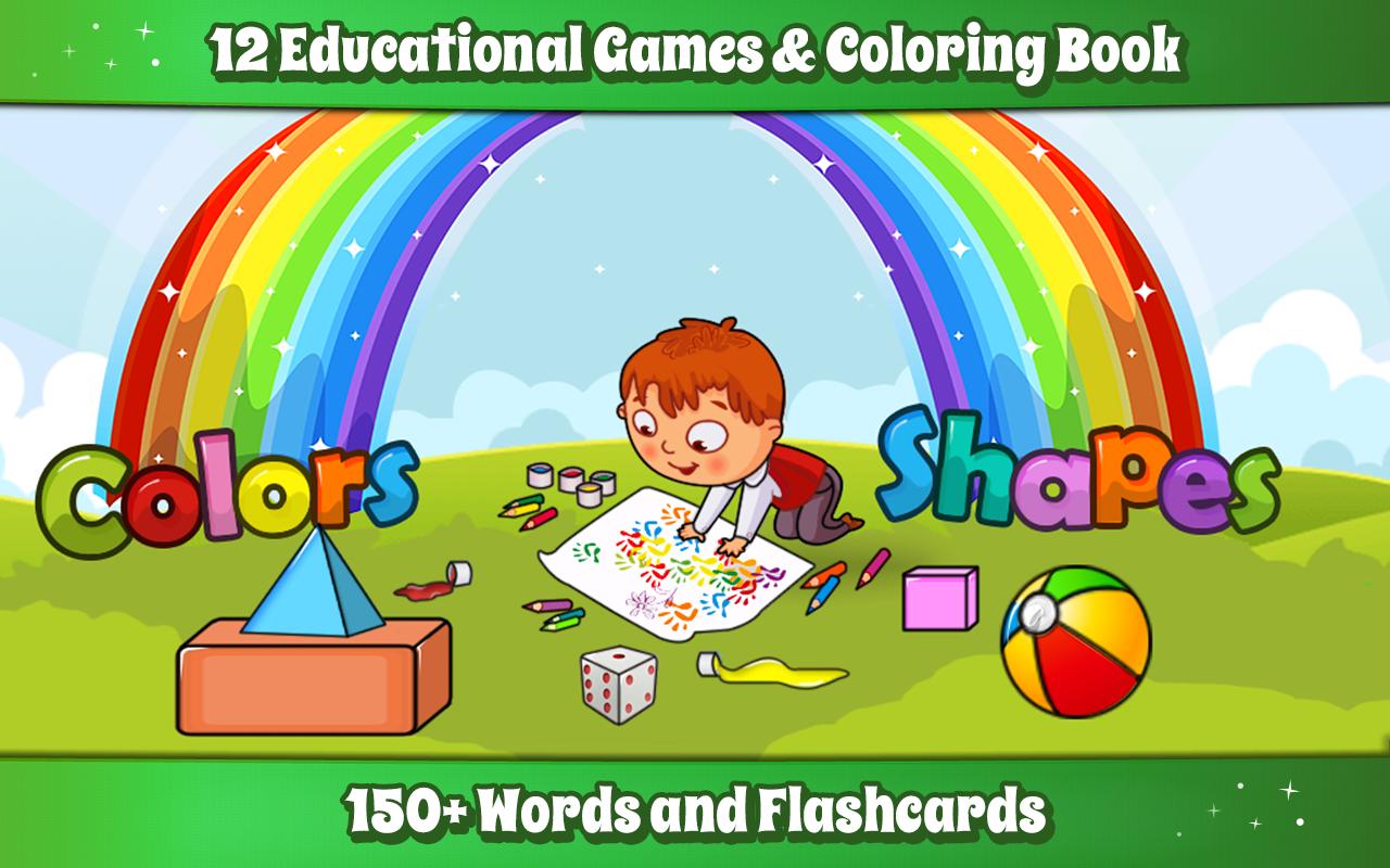 Shapes & Colors Learning Games for Kids, Toddler🎨 1.14 APK Download ...