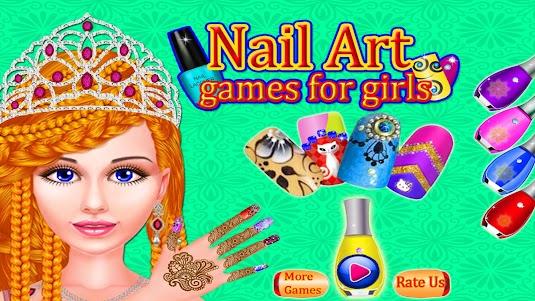 Girls Fashion Salon - Nail Art Makeup 1.4 screenshot 6