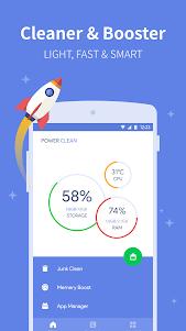 Power Clean - Antivirus & Phone Cleaner App 2.9.9.48 screenshot 1