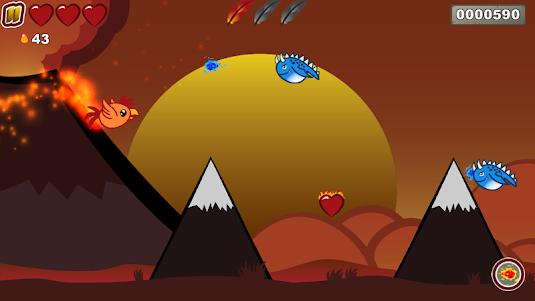Burning Rush 1.0.8 screenshot 1