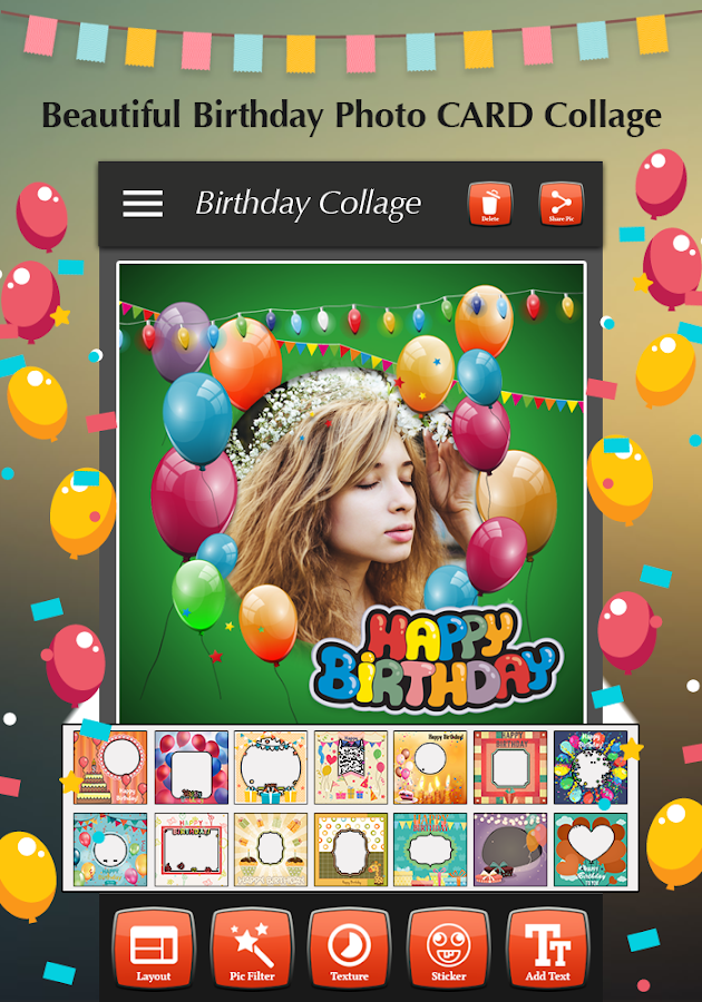 Happy Birthday Photo Collage 14 Apk Download Android Photography Apps