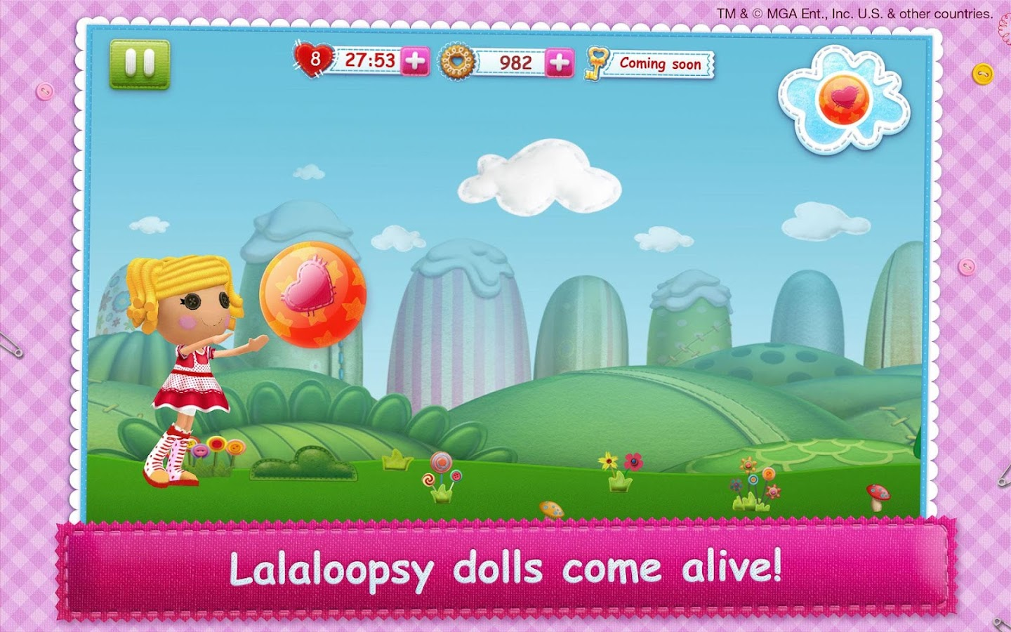 Lalaloopsy 3D Land 1.2.0 APK + OBB (Data File) Download - Android ...