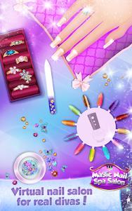 Magic Nail Spa Salon:Manicure Game 2.3 screenshot 2