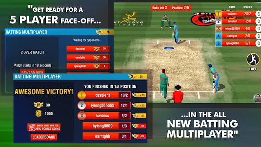World Cricket Championship 2 - WCC2 2.8.6.6 screenshot 1