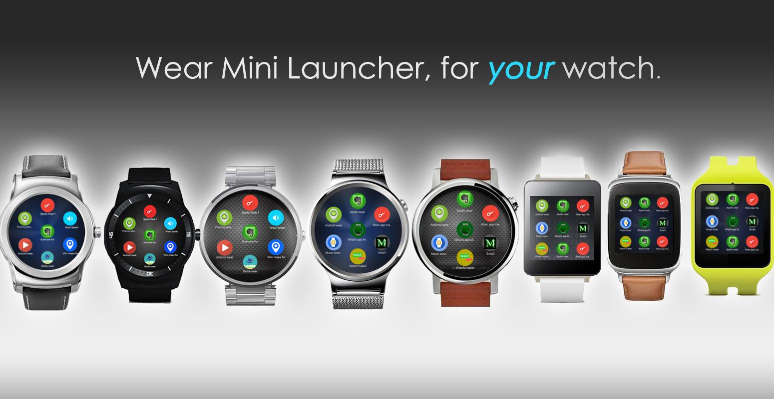 Wear Mini Launcher 584 Apk Download Android Communication Apps Circuit Board Clock V 10 For G Watch Facerepo Screenshot 1
