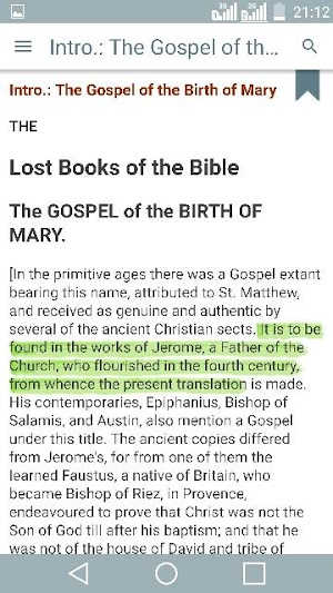 Lost Books of the Bible (Forgotten Bible Books) 2 7 APK