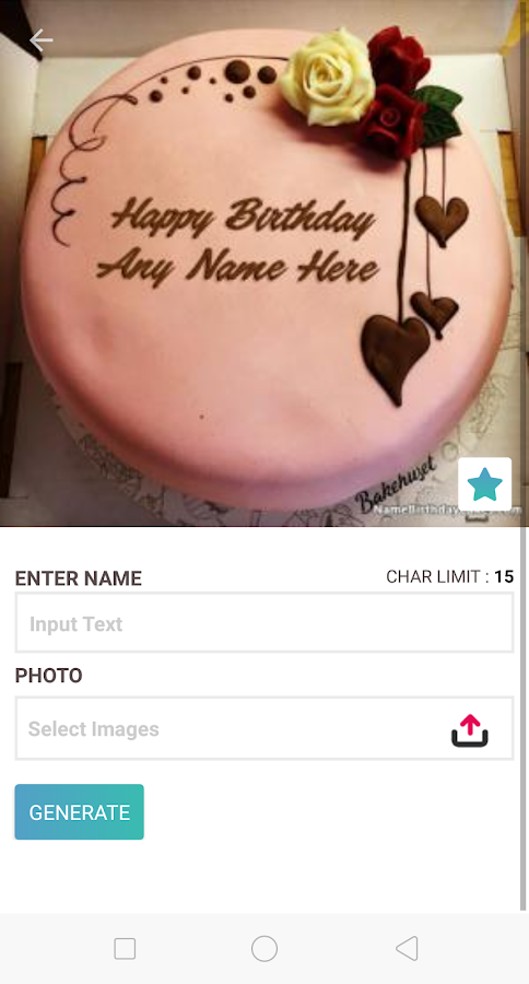 Birthday Cake With Name And Photo 20 Apk Download Android Cats