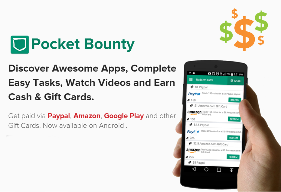 PocketBounty - Free Gift Cards 2 45 APK Download - Android