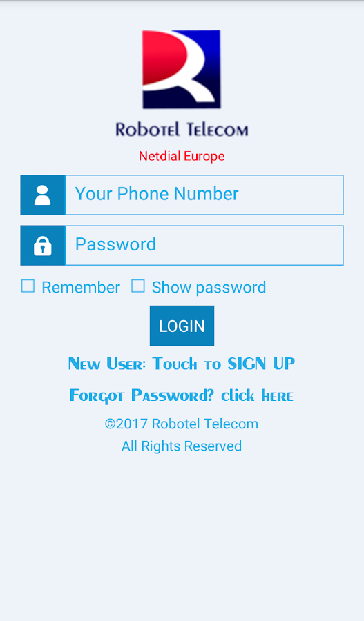 Netdial SIPEX Dialer Robotel 6 3 APK Download - Android