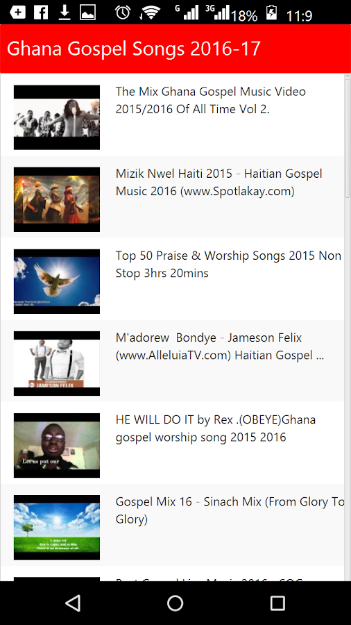 Ghana Gospel Songs 1 0 APK Download - Android Entertainment Apps