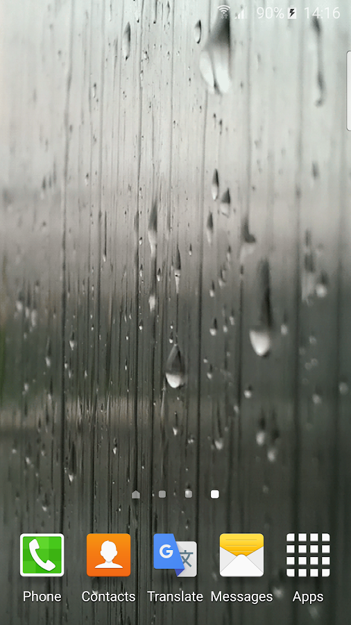 Rain Live Wallpaper 2.0 screenshot 1 ...