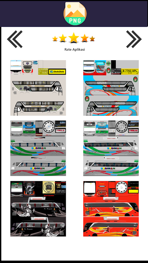 Livery Bussid Budiman 3 2 Apk Download Android Cats