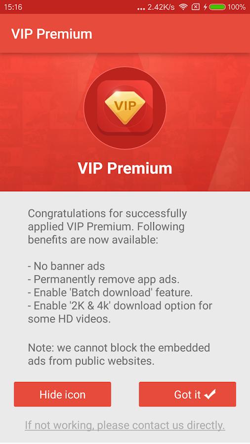 VIP Premium 2 1 APK Download - Android Tools Apps