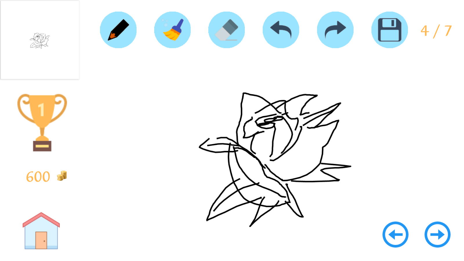 How To Draw A Rose Stepbystep 10 Apk Download Android Cats