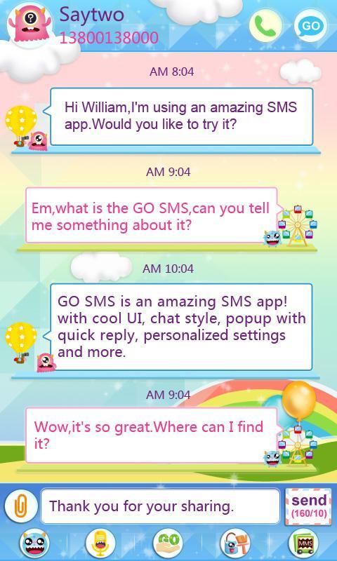 sms pro free