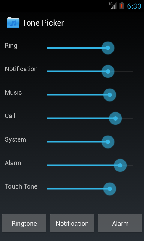 Default applications reset ringtone picker preferences android.