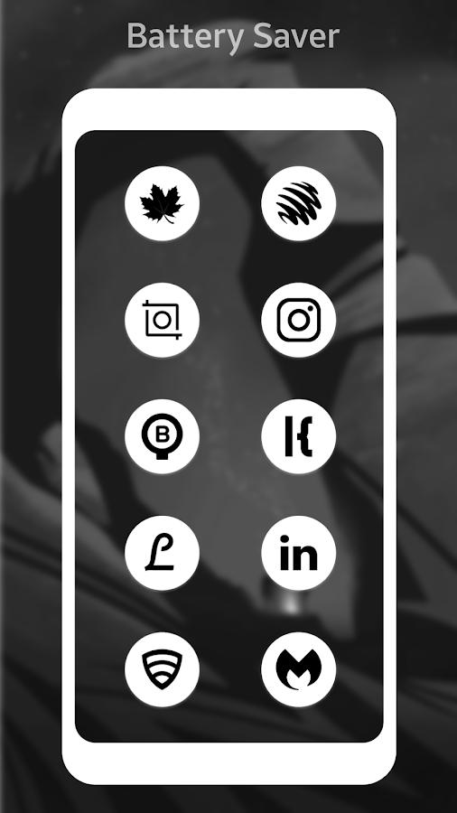Pixel 2 Android Oreo/P White AMOLED UI - Icon Pack 4 0 1 APK