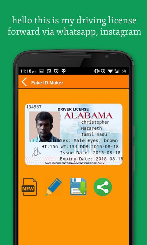 Fake id maker apk