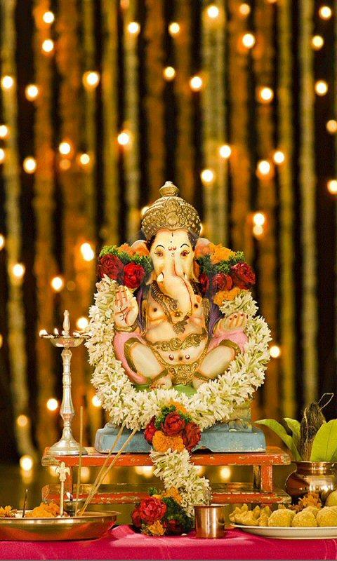 Lord Ganesha Live Wallpaper Hd 100 Apk Download Android