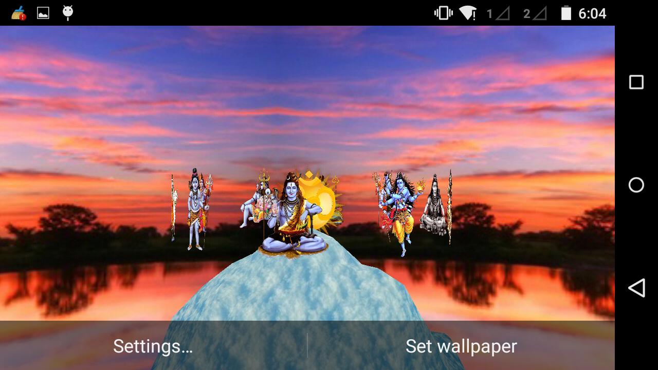 Shiva 3D Live Wallpaper 3 1 APK Download - Android