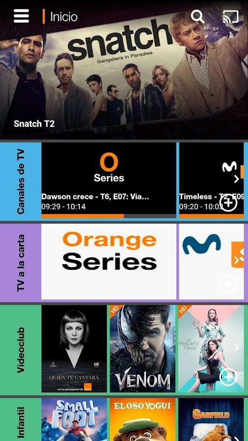 Orange TV 4 0 5 APK Download - Android Entertainment Apps